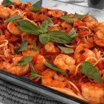 Espaguete com camarão: sucesso garantido
